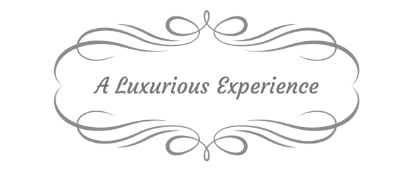 A Luxurious Experience decorative graphic