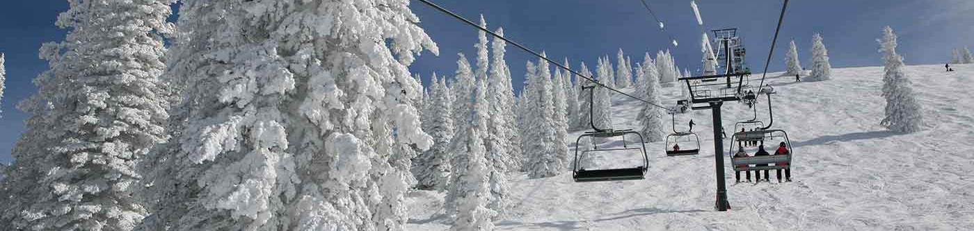 Ski lift in Steamboat Springs, CO